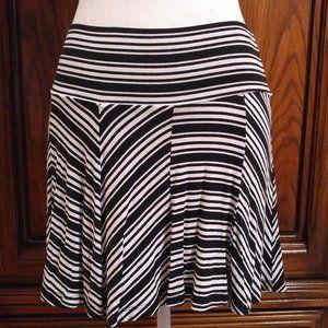 Armani Exchange Pull-on Striped Skirt